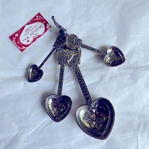Recipe for Love measuring spoons